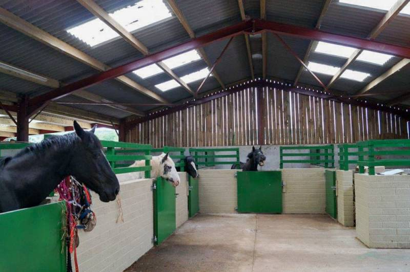 Our Stables & Yard