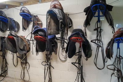 Secure Tack Room